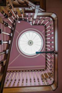 Sherborne ceremony room stairs