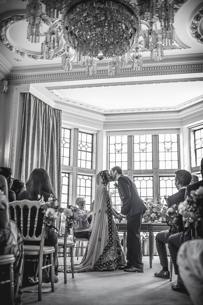 Minterne house wedding ceremony