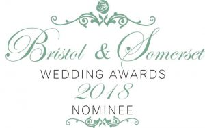 Bristol and Somerset Wedding Award Nominee 2018