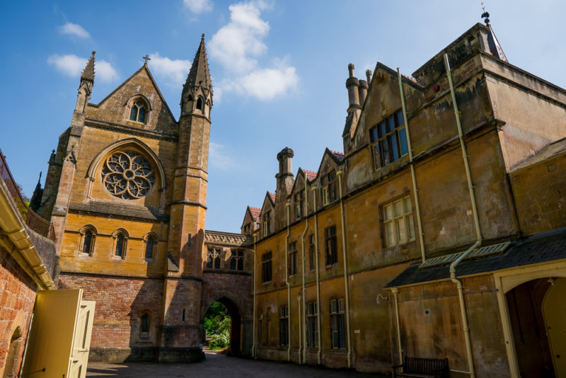 Tyntesfield courtyard