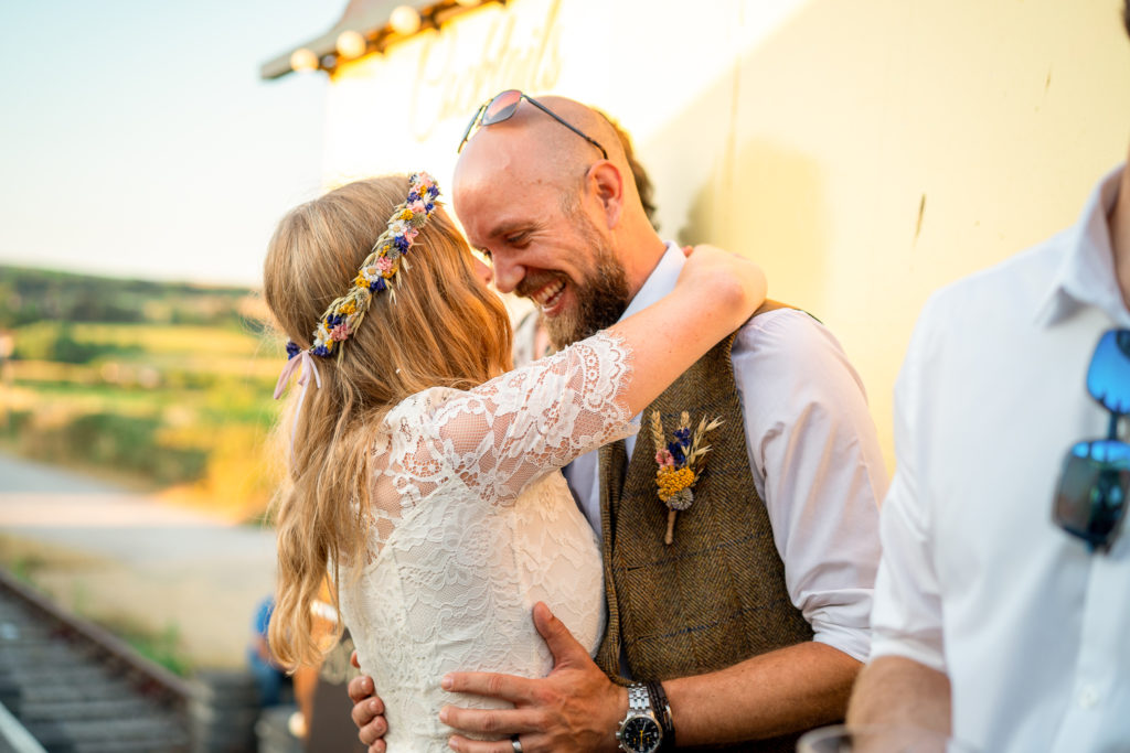 Wedding Photographer Dorset at The station Kitchen at West Bay
