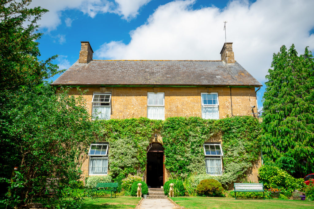 A Beautiful cottage, the recommended accommodation for weddings at Haselbury Mill